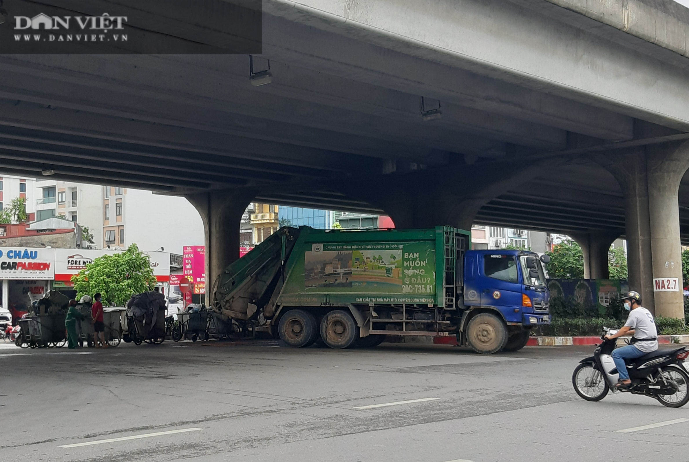 Bài 2: Tràn lan hình ảnh gây ô nhiễm của các công ty bảo vệ môi trường giữa thủ đô - Ảnh 16.