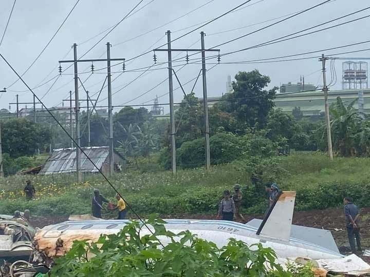 Ít nhất 12 người thiệt mạng trong vụ rơi máy bay quân sự ở Myanmar - Ảnh 3.