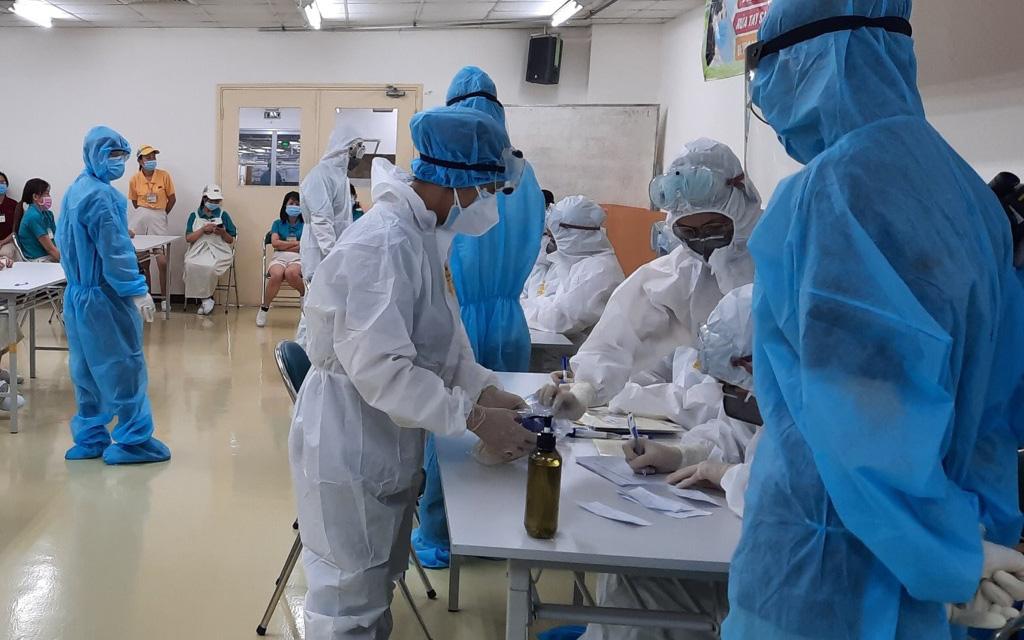 TP.HCM: Công nhân KCX Tân Thuận mắc Covid-19 không có khả năng lây trong công ty
