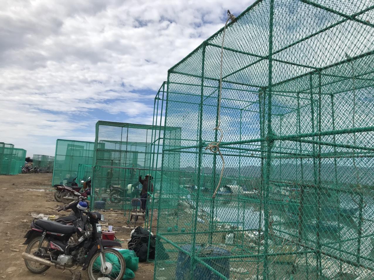 Khánh Hòa: Kiếm nửa triệu đồng/ngày nhờ nghề may lưới biển - Ảnh 3.