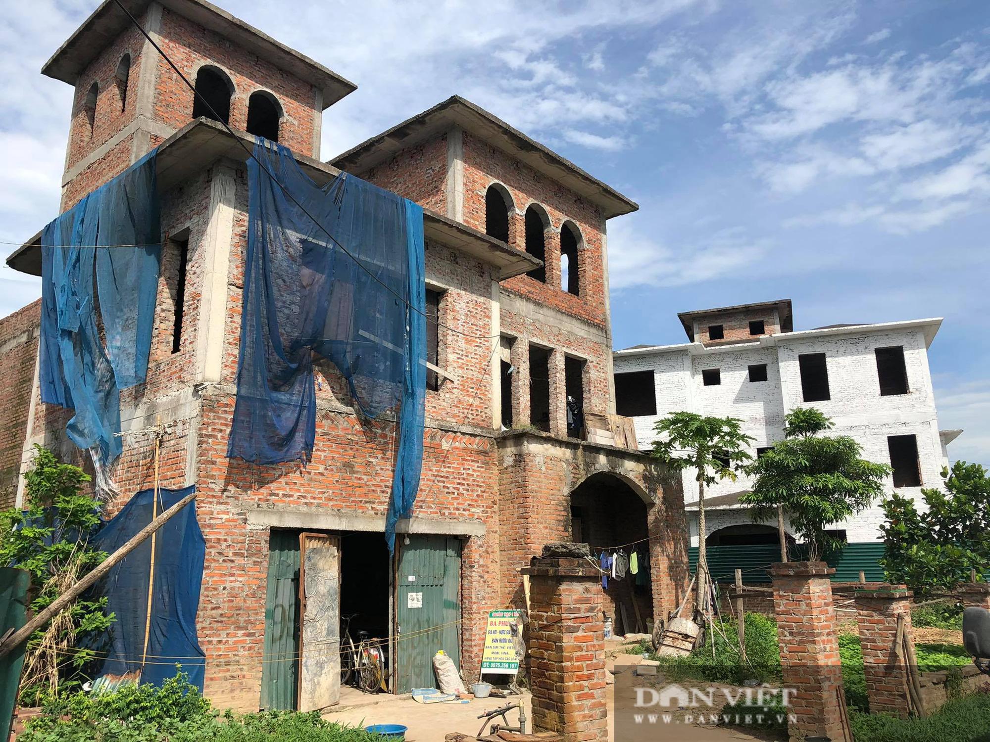 La liệt biệt thự chục tỷ đồng bỏ hoang ở Hà Nội - Ảnh 1.