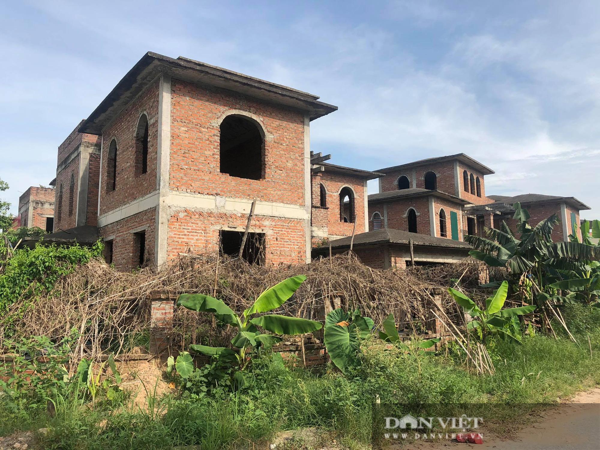 La liệt biệt thự chục tỷ đồng bỏ hoang ở Hà Nội - Ảnh 2.