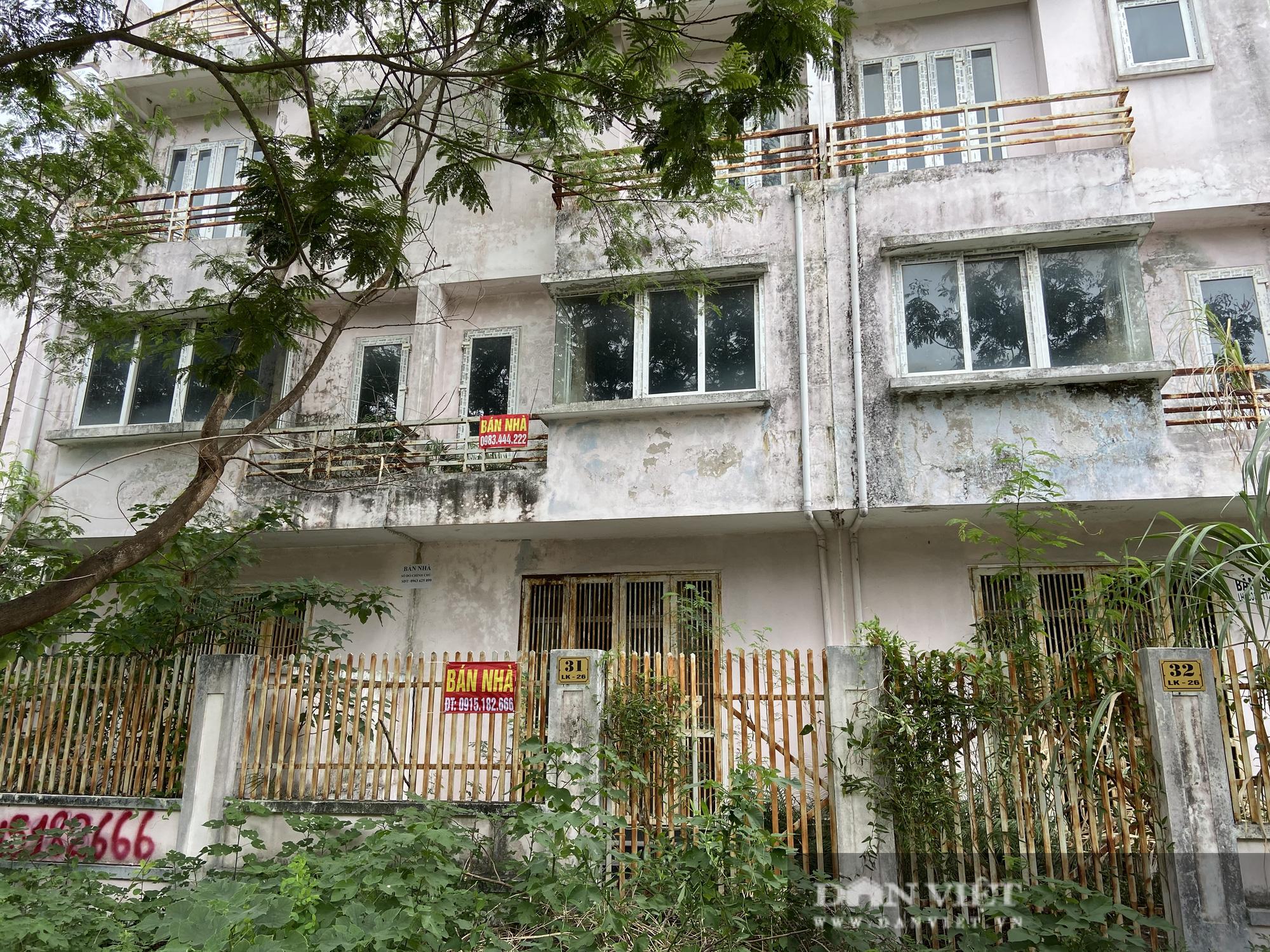 La liệt biệt thự chục tỷ đồng bỏ hoang ở Hà Nội - Ảnh 8.