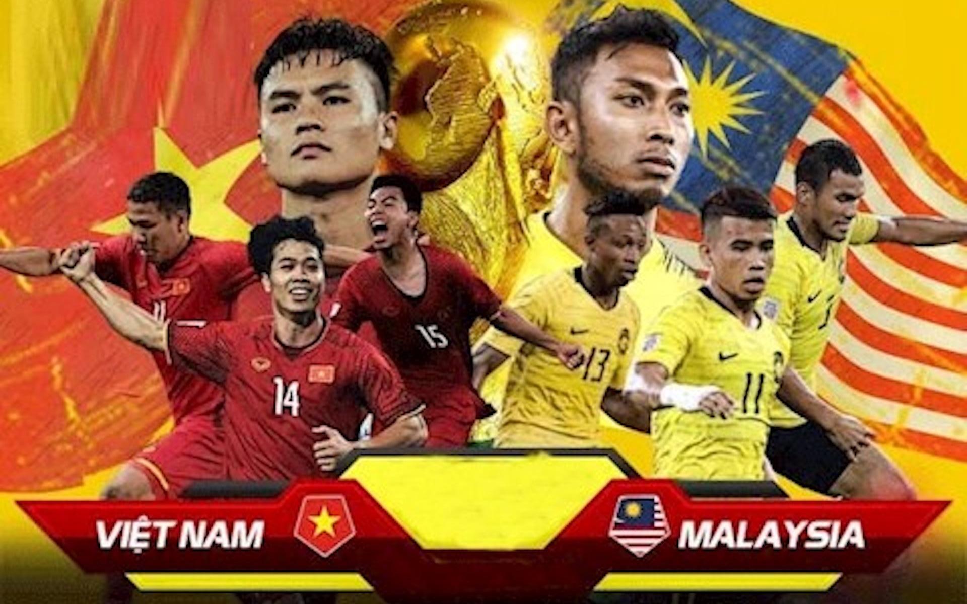 Lịch trực tiếp bóng đá và link xem trực tiếp hôm nay: Xem Việt Nam đấu Malaysia trên kênh nào?