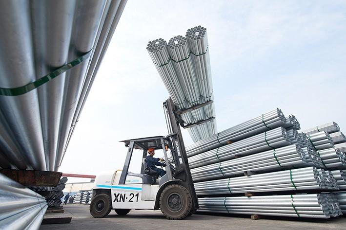 Xuất khẩu thép sang Trung Quốc, EU tăng đột biến - Ảnh 1.
