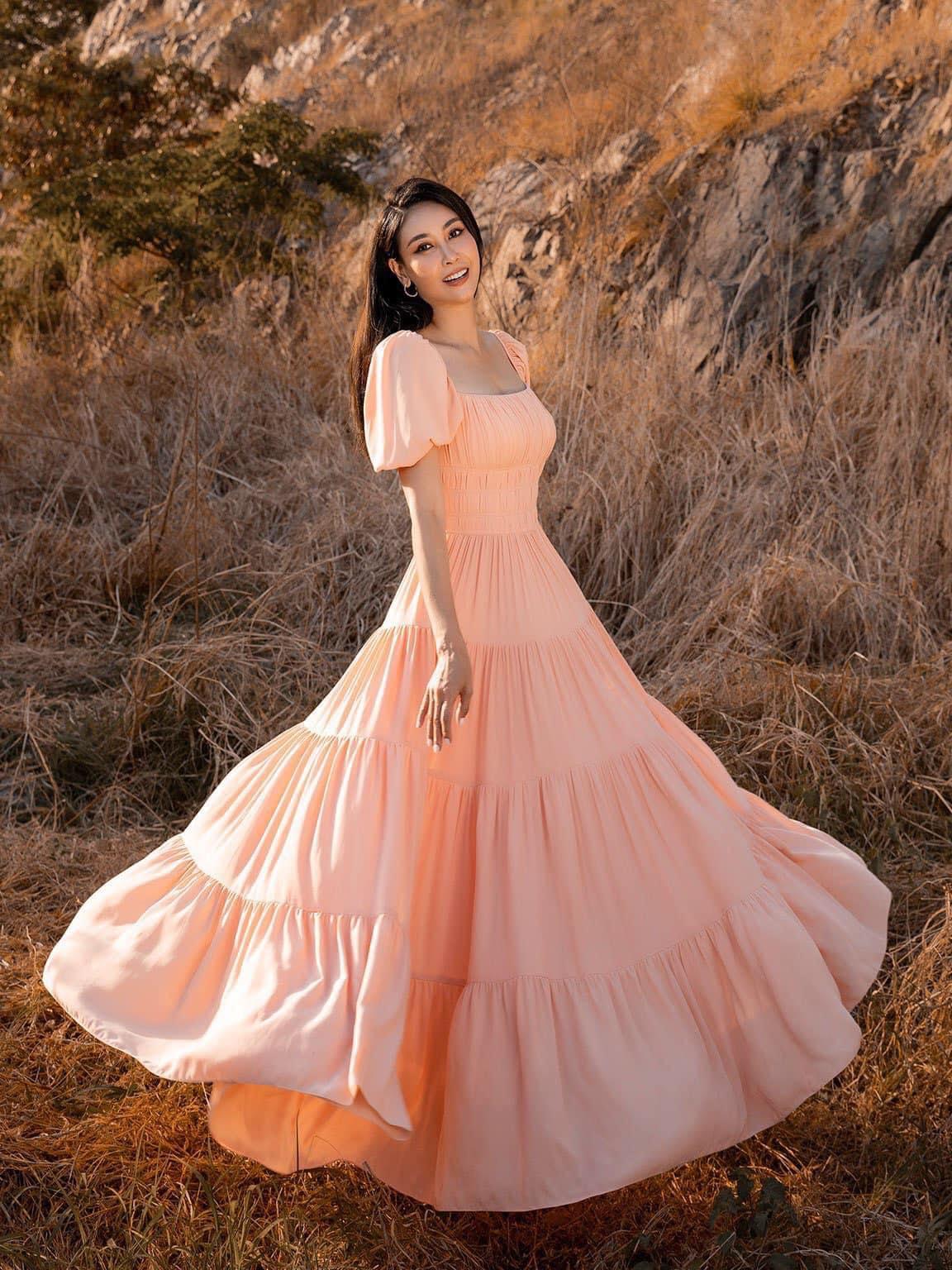 Những hoa hậu Việt xinh đẹp mang thêm danh diễn viên - Ảnh 4.