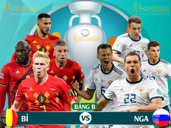 Xem trực tiếp Bỉ vs Nga trên kênh nào? - Ảnh 1.