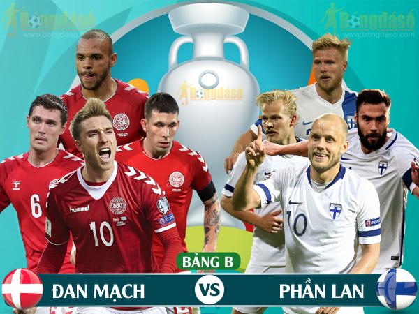 Xem trực tiếp Đan Mạch vs Phần Lan trên kênh nào? - Ảnh 1.