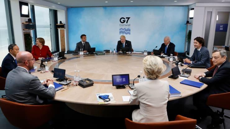 Ông Biden gây sức ép, muốn G7 chống lại ảnh hưởng toàn cầu ngày càng tăng của Trung Quốc - Ảnh 1.