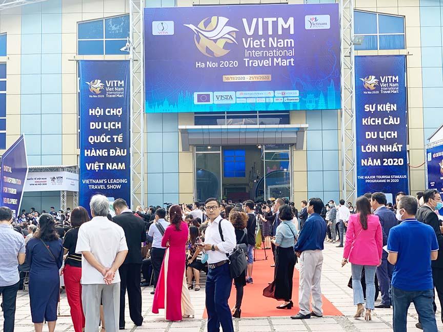 Khai mạc Hội chợ du lịch quốc tế Việt Nam (VITM) Hà Nội 2021 vào cuối tháng 7 - Ảnh 1.