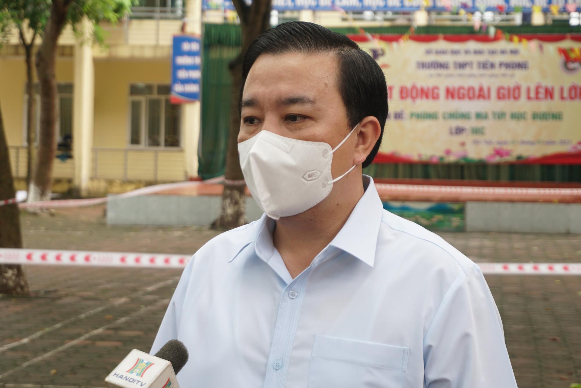 Phó Chủ tịch Hà Nội Chử Xuân Dũng: Đã có nhiều chỉ đạo sâu sát để kỳ thi diễn ra an toàn, thành công - Ảnh 3.