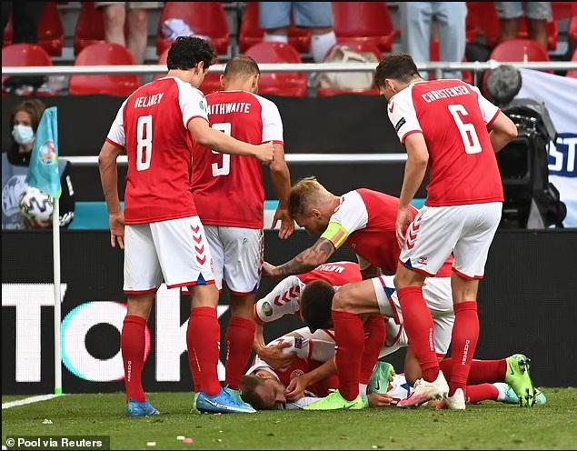 NÓNG: Hoãn trận Đan Mạch vs Phần Lan vì Eriksen bị đột quỵ, nguy kịch - Ảnh 2.