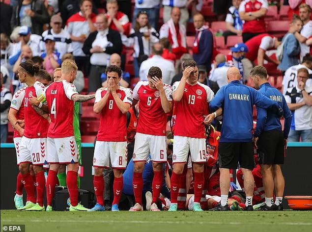 NÓNG: Hoãn trận Đan Mạch vs Phần Lan vì Eriksen bị đột quỵ, nguy kịch - Ảnh 3.