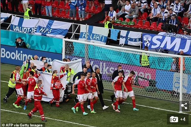 NÓNG: Hoãn trận Đan Mạch vs Phần Lan vì Eriksen bị đột quỵ, nguy kịch - Ảnh 4.