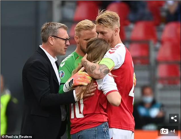 NÓNG: Hoãn trận Đan Mạch vs Phần Lan vì Eriksen bị đột quỵ, nguy kịch - Ảnh 5.