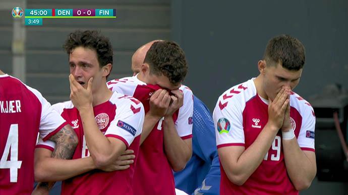 NÓNG: Hoãn trận Đan Mạch vs Phần Lan vì Eriksen bị đột quỵ, nguy kịch - Ảnh 6.