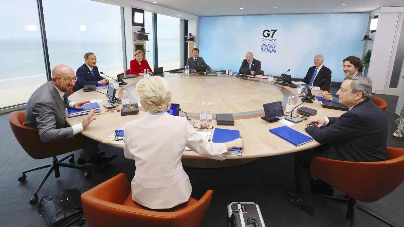 G7 nhất trí kế hoạch cạnh tranh với Sáng kiến Vành đai và Con đường của Trung Quốc - Ảnh 1.