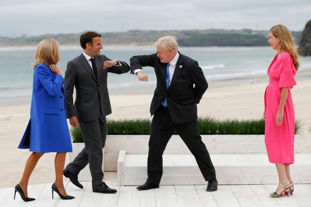 Ảnh thế giới 7 ngày qua: Từ khai mạc Hội nghị thượng đỉnh G7 đến ông Kim Jong Un họp tại Bình Nhưỡng - Ảnh 1.