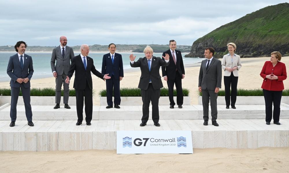 Ảnh thế giới 7 ngày qua: Từ khai mạc Hội nghị thượng đỉnh G7 đến ông Kim Jong Un họp tại Bình Nhưỡng - Ảnh 2.