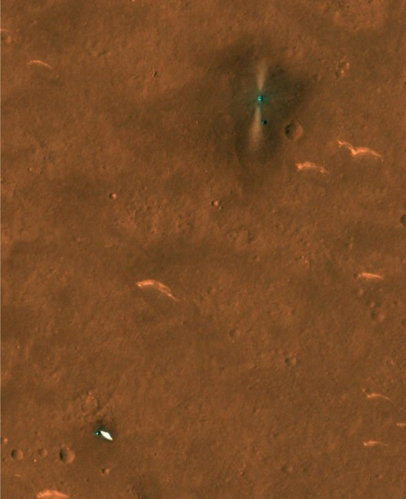 Những hình ảnh thú vị được gửi về từ tàu thám hiểm sao Hỏa của Trung Quốc - Ảnh 4.