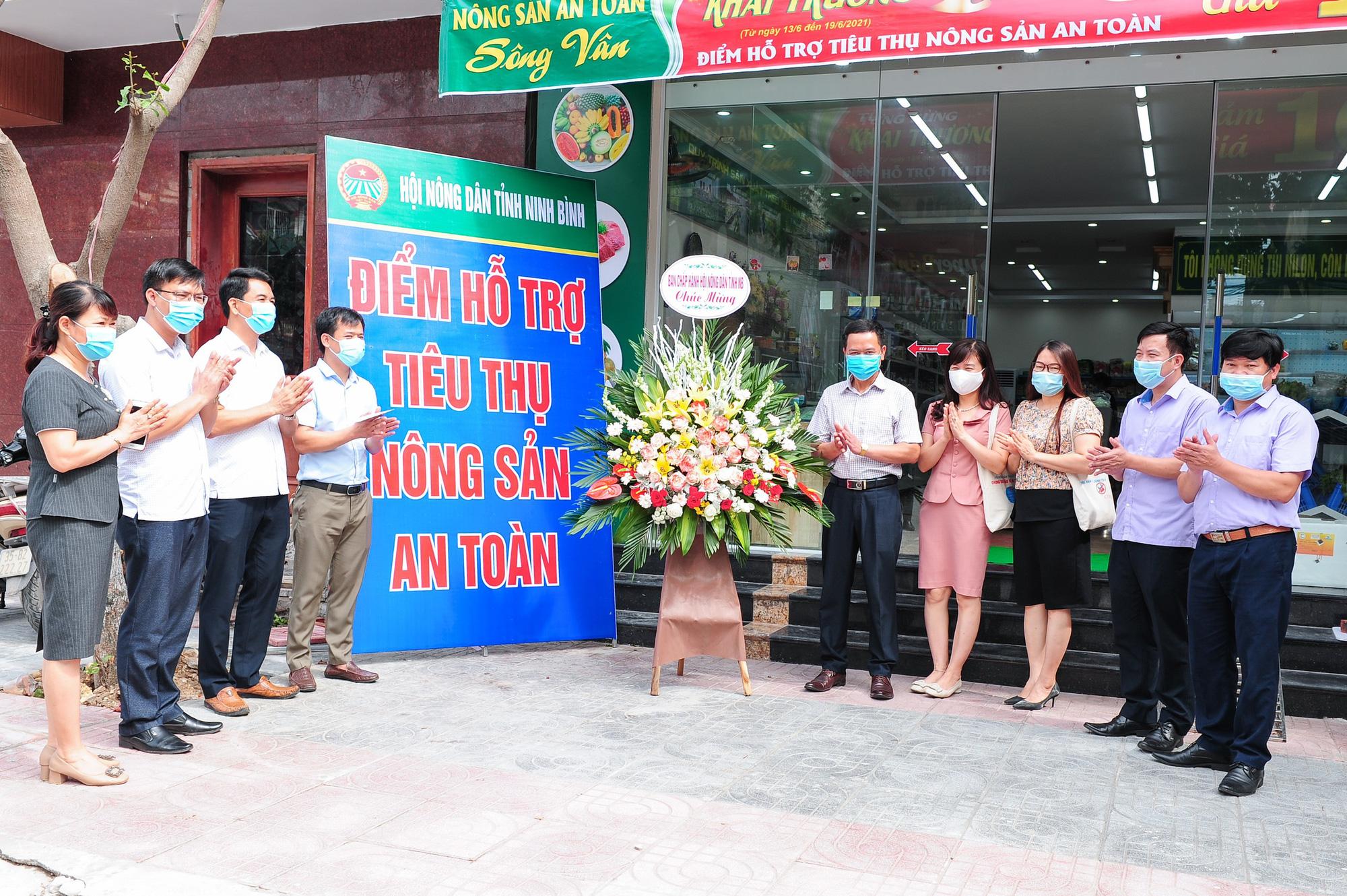 Ninh Bình: Hội Nông dân tỉnh kết nối tiêu thụ nông sản trong mùa dịch cho nông dân.  - Ảnh 1.