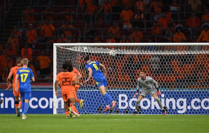 Rượt đuổi tỷ số nghẹt thở, Hà Lan đánh bại Ukraine đầy kịch tính - Ảnh 3.