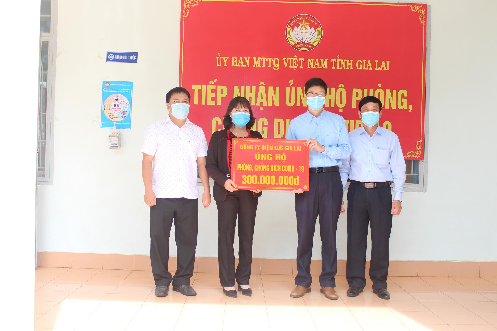 PC Gia Lai ủng hộ quỹ vắc xin phòng, chống dịch Covid-19 300 triệu đồng - Ảnh 1.
