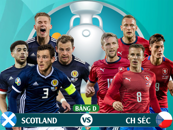 Xem trực tiếp Scotland vs CH Czech trên kênh nào? - Ảnh 1.