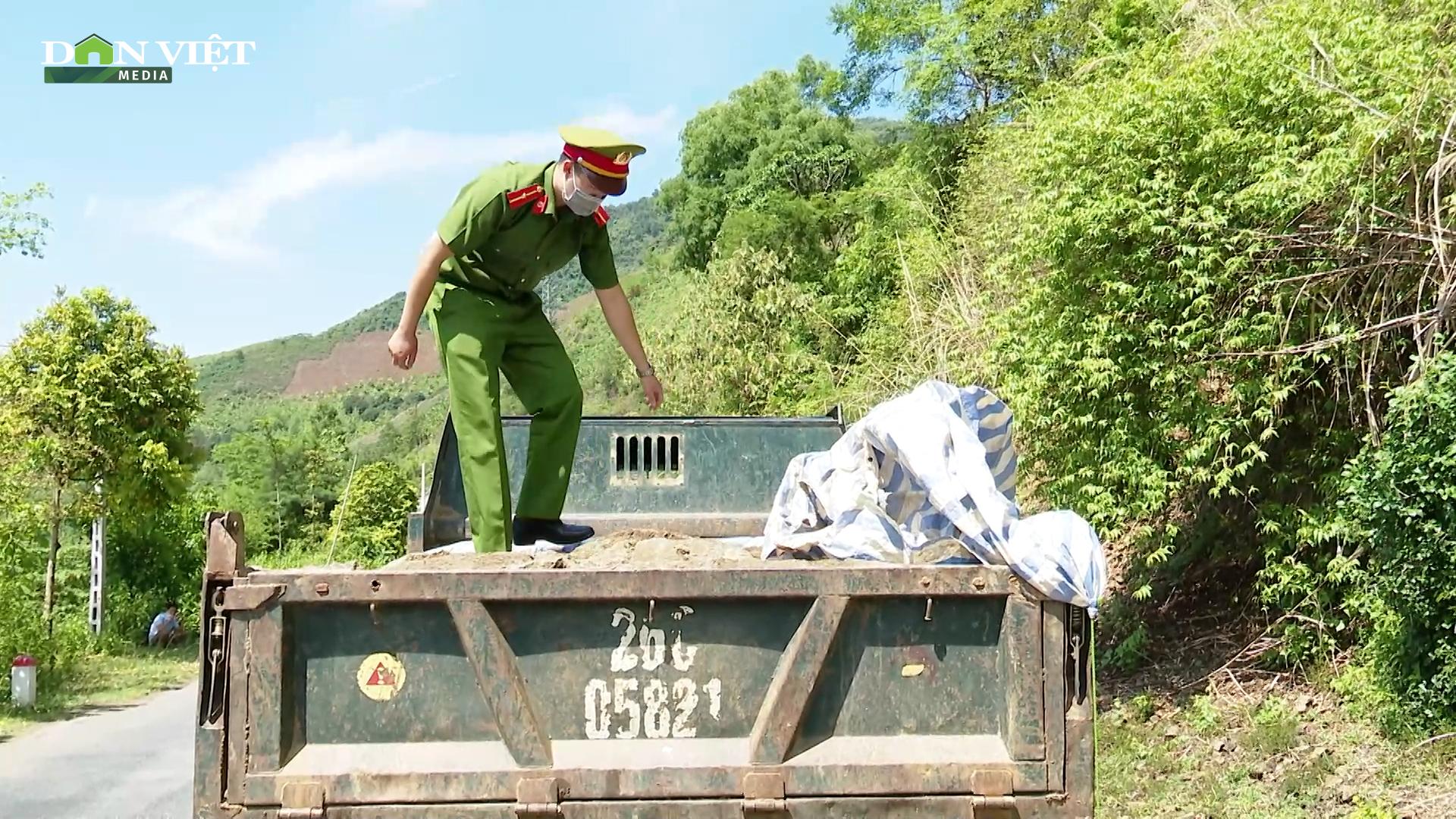 Sơn La: Đấu tranh với tội phạm khai thác, vận chuyển khoáng sản trái phép - Ảnh 3.