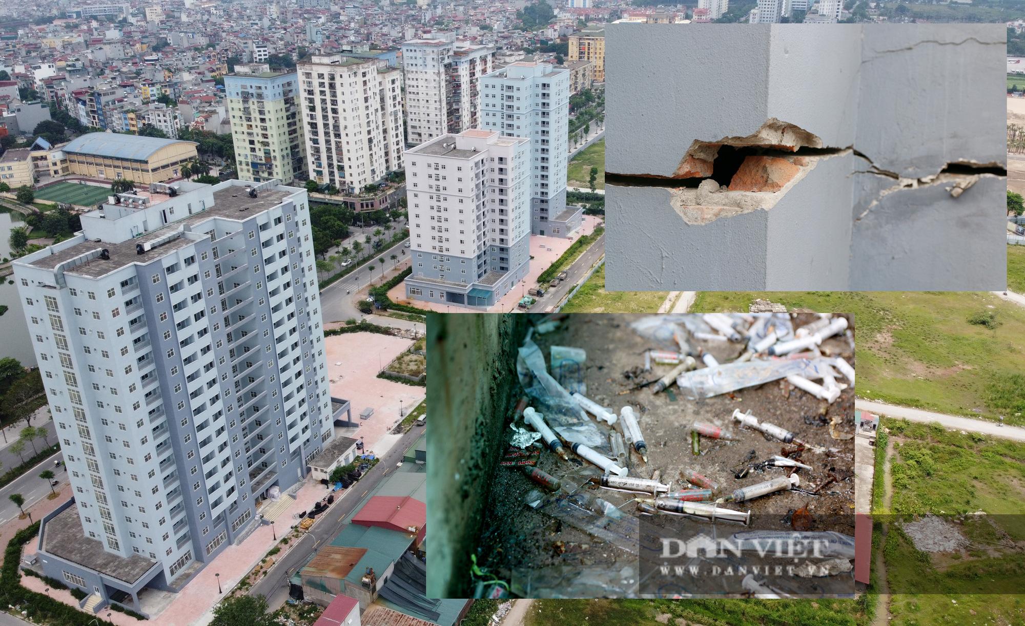 Xót xa cảnh nhà tái định cư ở Hà Nội xây xong rồi bỏ không - Ảnh 2.