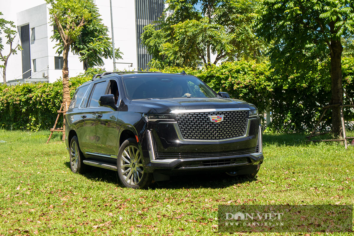 Siêu SUV Mỹ Cadillac Escalade ESV Premium Luxury 2021 đầu tiên tại Việt Nam có gì đặc biệt? - Ảnh 9.