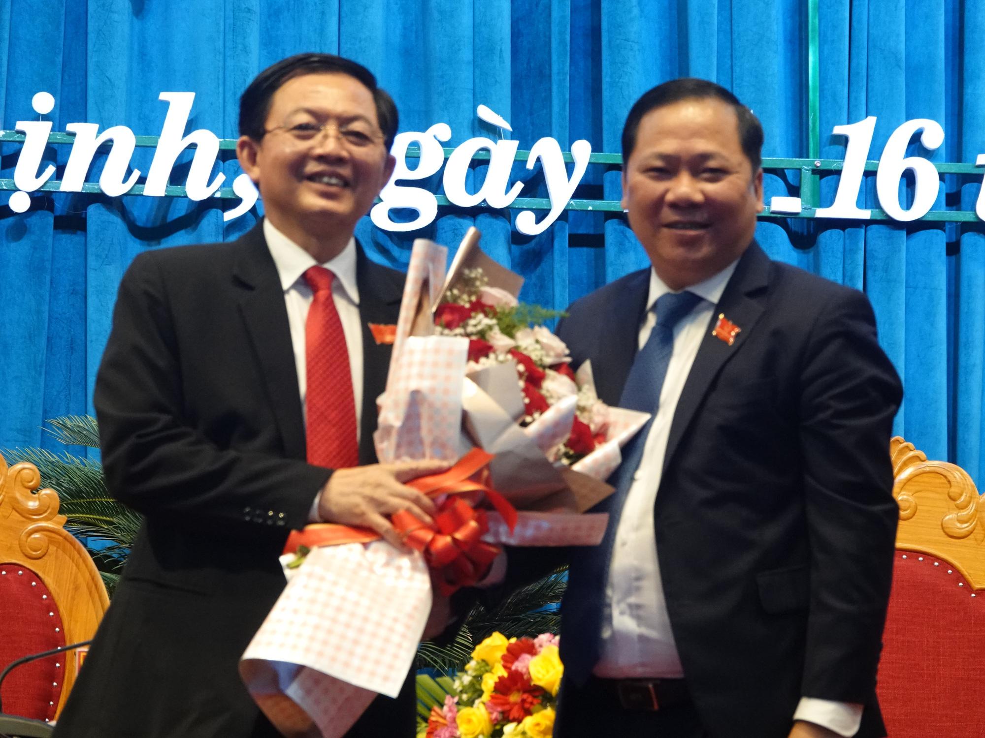 Bí thư Bình Định Hồ Quốc Dũng tái đắc cử chức Chủ tịch HĐND tỉnh - Ảnh 1.