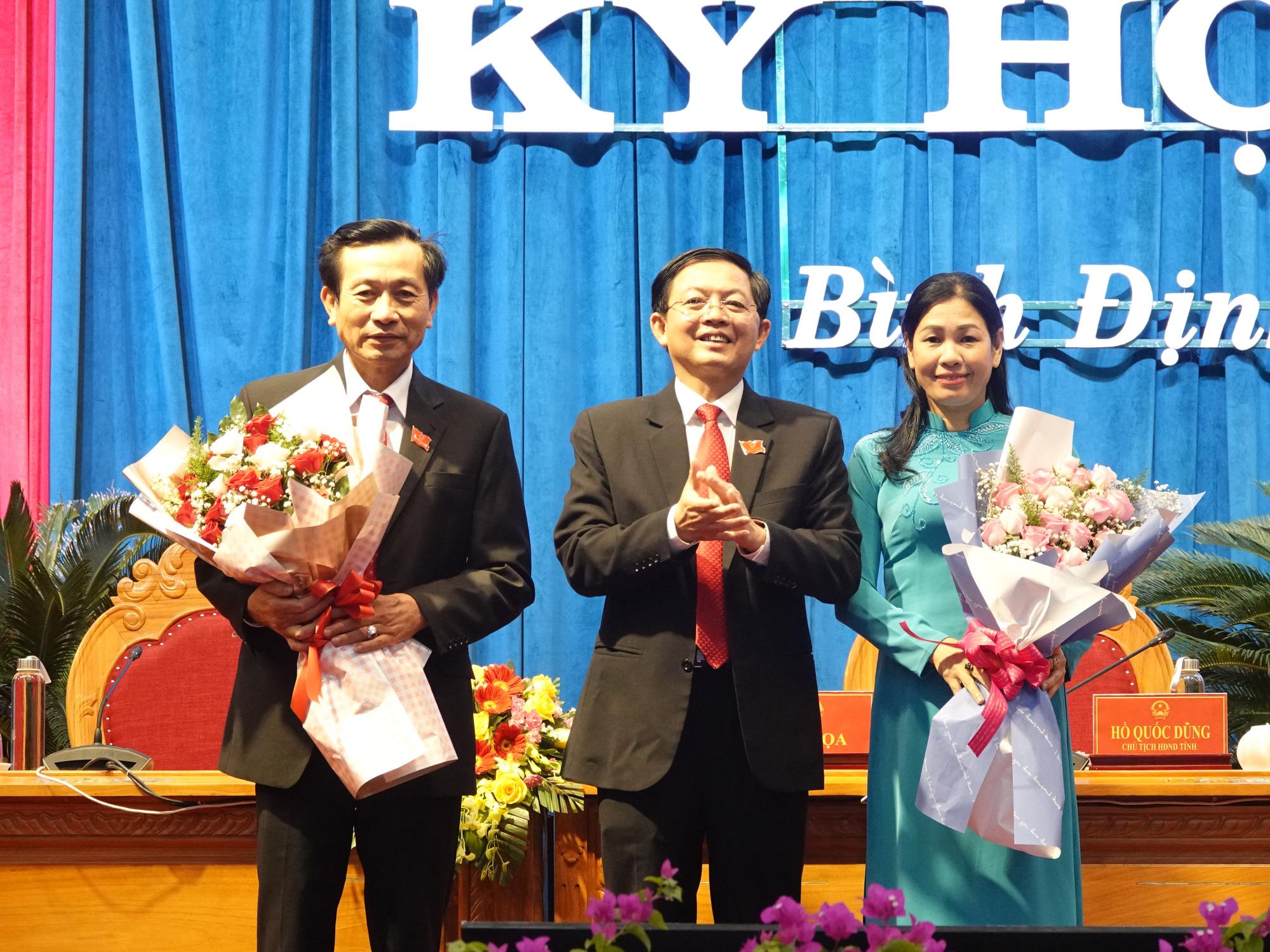 Bí thư Bình Định Hồ Quốc Dũng tái đắc cử chức Chủ tịch HĐND tỉnh - Ảnh 2.