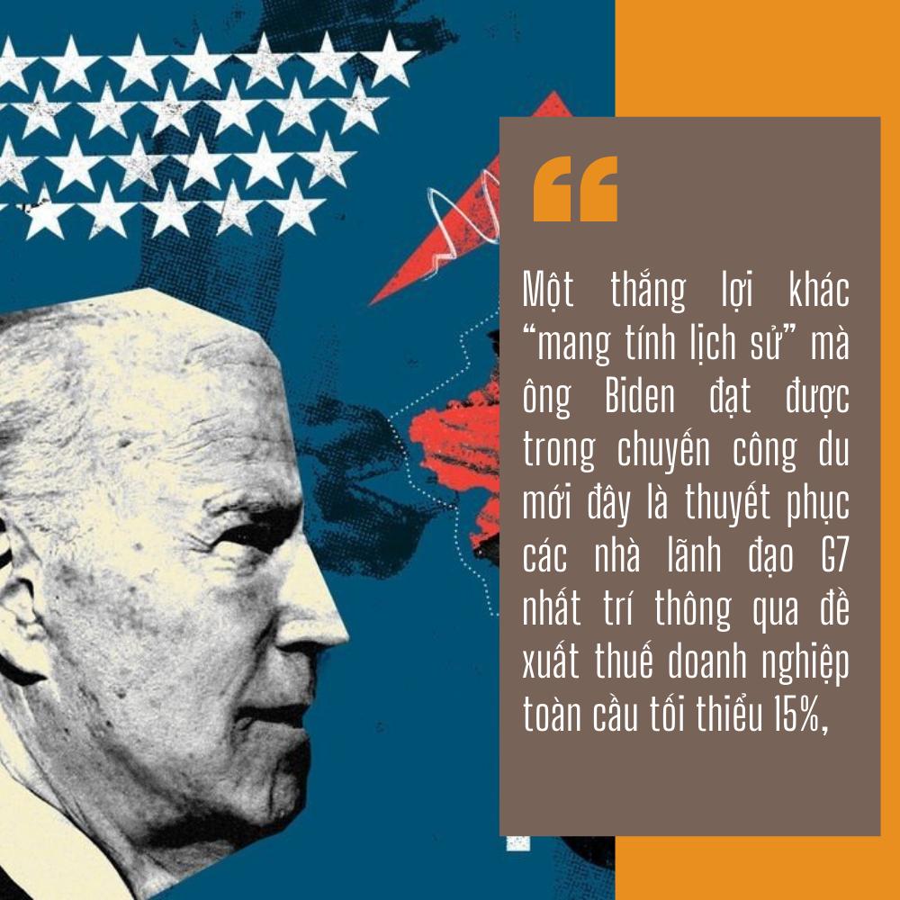 2 thắng lợi bước ngoặt trên mặt trận kinh tế của ông Biden trong chuyến công du nước ngoài đầu tiên - Ảnh 9.