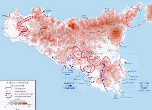 Chiến dịch đổ bộ Sicily: Mỹ - Anh bắn nhầm nhau, 300 lính thiệt mạng - Ảnh 2.