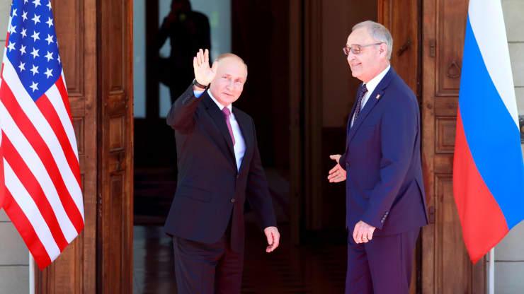 Tổng thống Biden và Putin bước vào cuộc hội đàm quan trọng tại Geneva - Ảnh 2.
