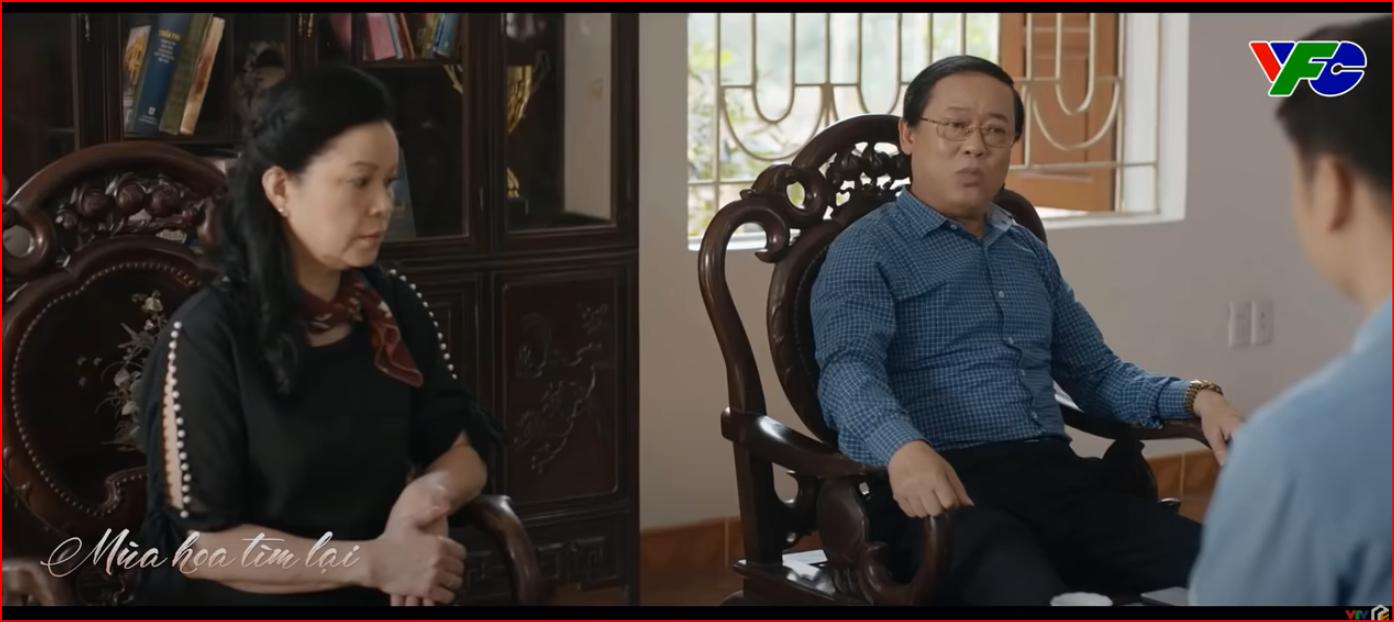 """Phim Mùa hoa tìm lại tập 11: Đồng """"nóng mắt"""" khi thấy Việt đón Lệ - Ảnh 2."""