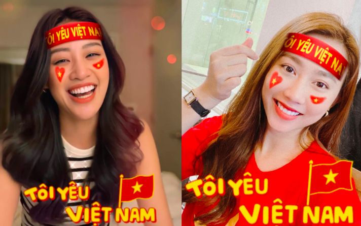 """Sao Việt """"dậy sóng"""" chúc mừng ĐT Việt Nam vào vòng loại thứ 3 World Cup 2022"""
