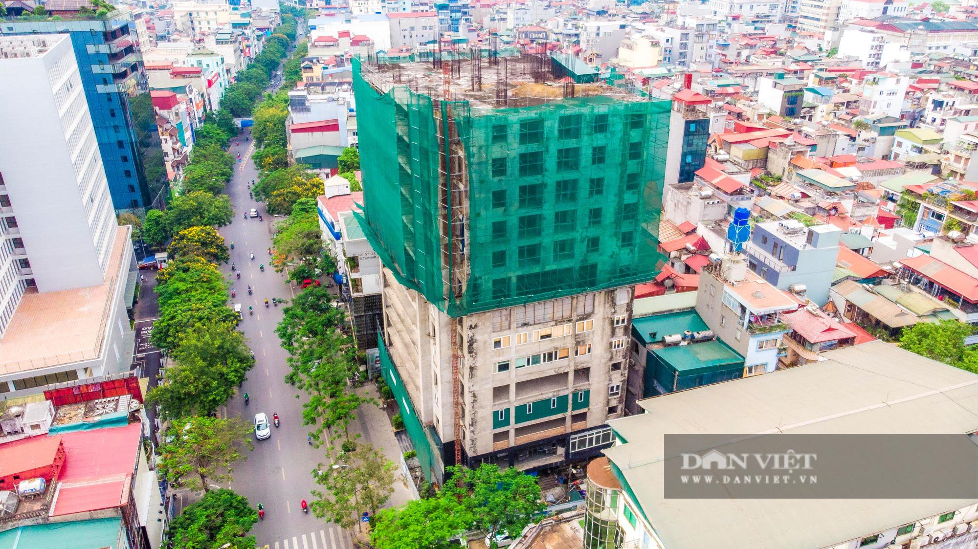 """Toàn cảnh dự án cao ốc 131 Thái Hà bị """"lãng quên"""" hơn 1 thập kỷ - Ảnh 1."""