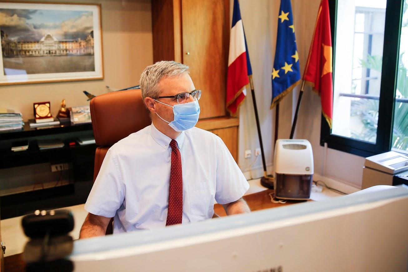 Ông Nicolas Warnery - Đại sứ Pháp tại Việt Nam: Đội tuyển Pháp sẽ nỗ lực hết mình để chiến thắng - Ảnh 3.