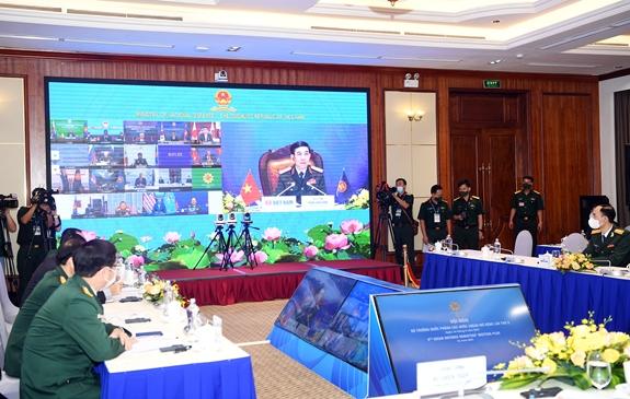 Bộ trưởng Bộ Quốc phòng Phan Văn Giang tham dự ADMM+ lần thứ 8 - Ảnh 5.