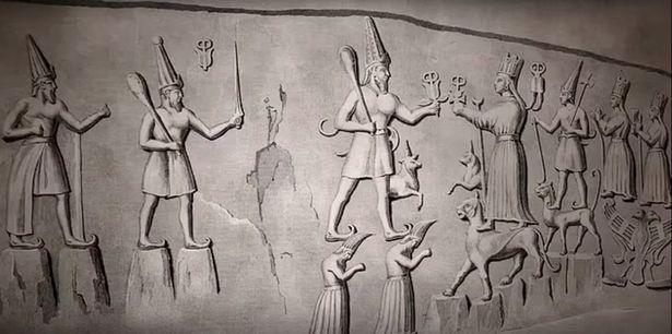 Những bức chạm khắc 3.000 năm tuổi tiết lộ về 'thế giới ngầm' bên dưới lòng đất - Ảnh 2.