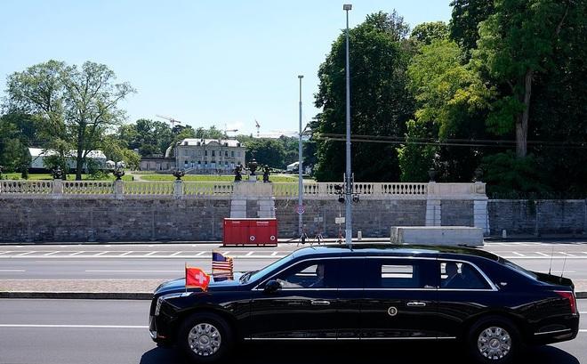 Hình ảnh dàn xe cực chất chở và tháp tùng Tổng thống Joe Biden và Putin tại Thụy Sĩ - Ảnh 1.