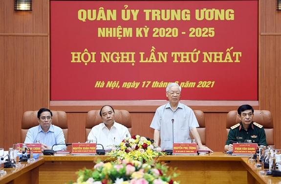 Bộ Chính trị chỉ định nhân sự Quân ủy Trung ương nhiệm kỳ mới - Ảnh 1.
