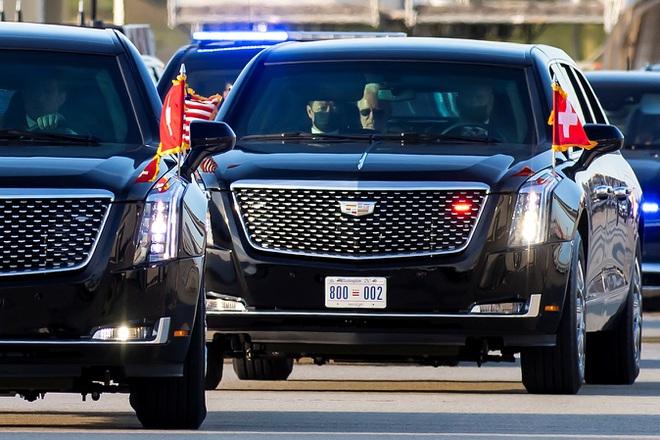 Hình ảnh dàn xe cực chất chở và tháp tùng Tổng thống Joe Biden và Putin tại Thụy Sĩ - Ảnh 4.