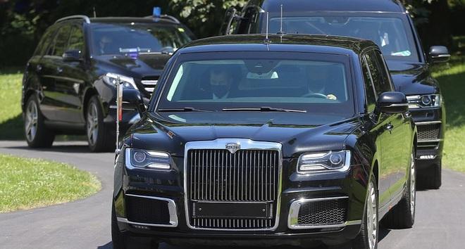 Hình ảnh dàn xe cực chất chở và tháp tùng Tổng thống Joe Biden và Putin tại Thụy Sĩ - Ảnh 9.