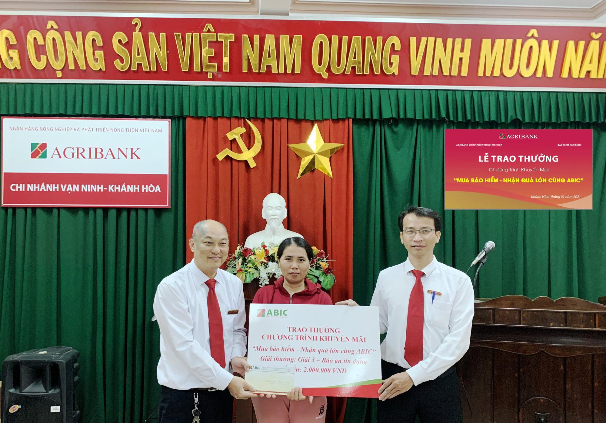 Bảo hiểm AgriBank Khánh Hòa đã chi trả 1,4 tỷ đồng cho khách hàng  - Ảnh 1.