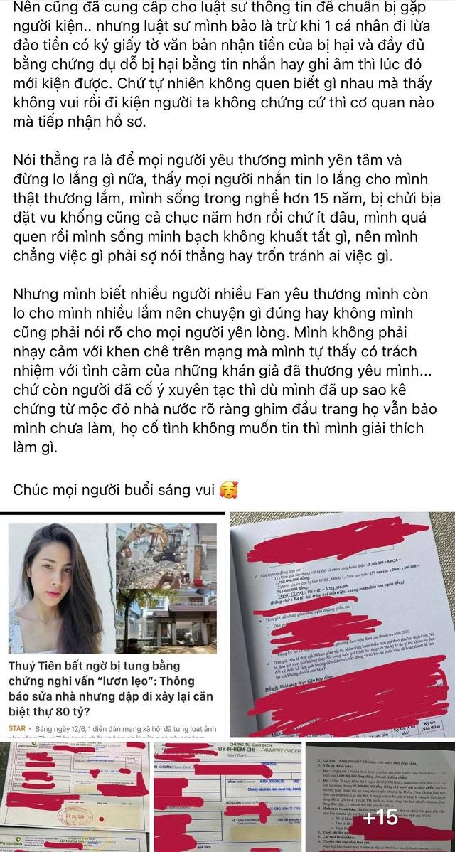 """Thủy Tiên tiết lộ thu nhập và tài sản """"kếch xù"""" của Công Vinh - Ảnh 3."""
