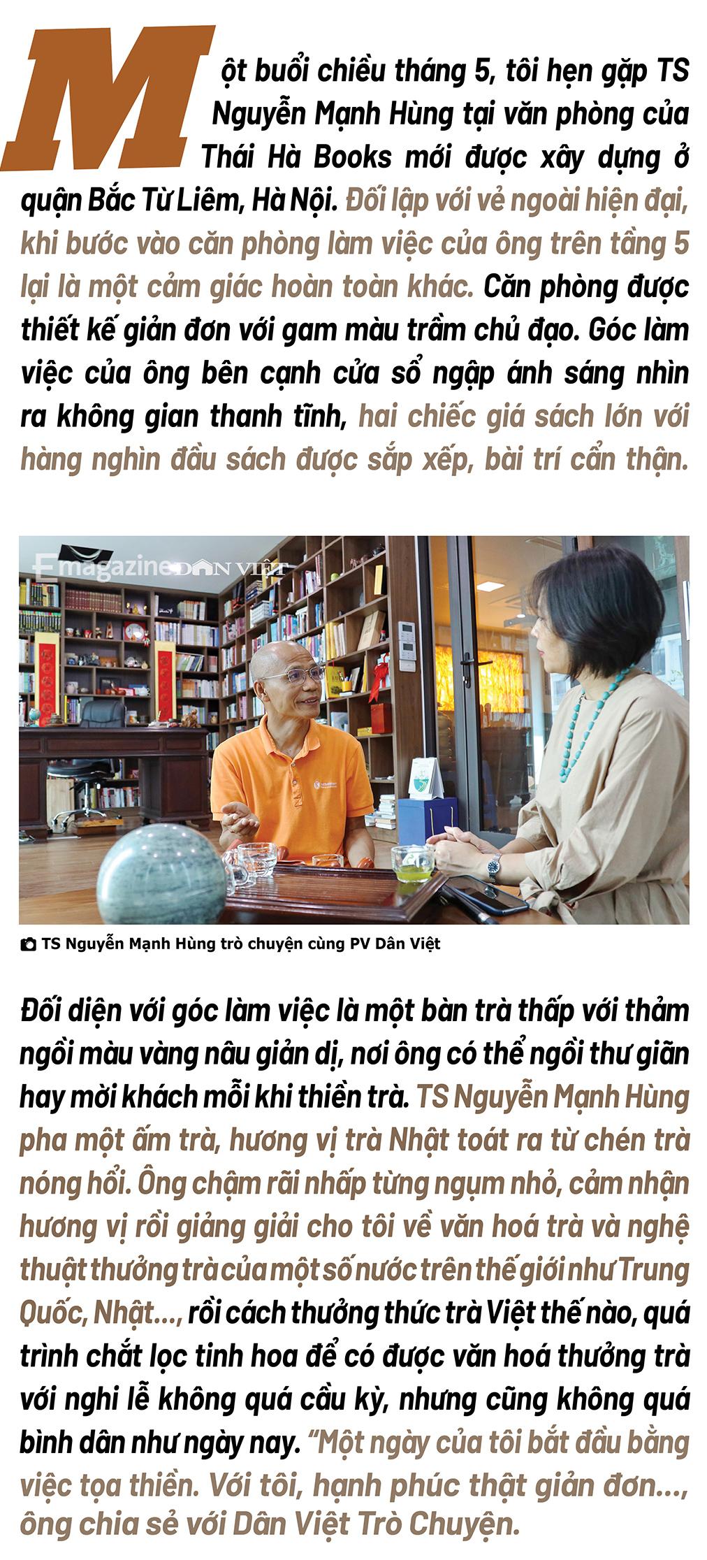 """Đại gia đi tu Nguyễn Mạnh Hùng: """"Nhiều người giàu có, nổi tiếng, thành đạt luôn bất an, tôi trải qua nên biết điều đó"""" - Ảnh 1."""