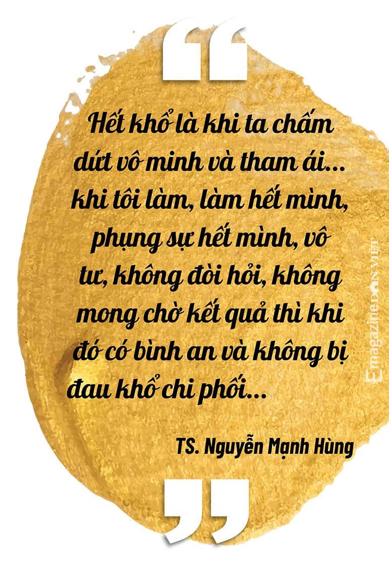 """Đại gia đi tu Nguyễn Mạnh Hùng: """"Nhiều người giàu có, nổi tiếng, thành đạt luôn bất an, tôi trải qua nên biết điều đó"""" - Ảnh 3."""